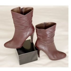 ADRIENNE VITTADINI Albert Mid Calf Boots Brown 7